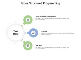 Types Structured Programming Ppt Powerpoint Presentation Summary Background Cpb