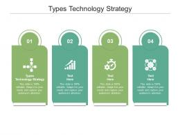 Types Technology Strategy Ppt Powerpoint Presentation Infographics Slideshow Cpb