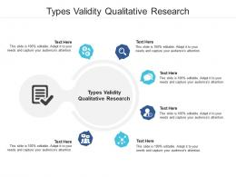 Types Validity Qualitative Research Ppt Powerpoint Presentation Infographics Backgrounds Cpb