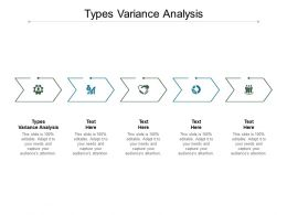 Types Variance Analysis Ppt Powerpoint Presentation Show Sample Cpb
