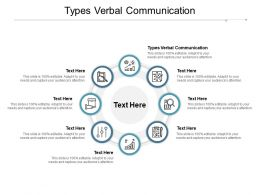 Types Verbal Communication Ppt Powerpoint Presentation Inspiration Gridlines Cpb