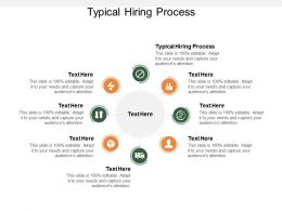Typical Hiring Process Ppt Powerpoint Presentation Styles Sample Cpb
