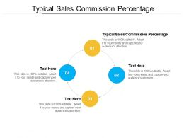 Typical Sales Commission Percentage Ppt Powerpoint Presentation Inspiration Example Cpb