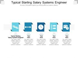 Typical Starting Salary Systems Engineer Ppt Powerpoint Presentation Styles Summary Cpb