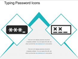 Typing Password Icons