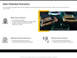 Uber Potential Outcomes Ppt Powerpoint Presentation Icon Graphic Tips