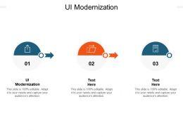 UI Modernization Ppt Powerpoint Presentation Show Files Cpb