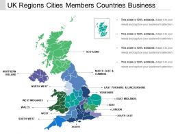 Uk Regions Cities Members Countries Business