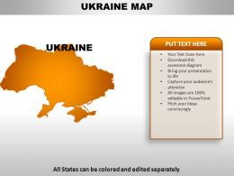 Ukraine powerpoint templates ppt slides images graphics and themes ukraine country powerpoint ukrainepowerpointmapsslide01 toneelgroepblik Images