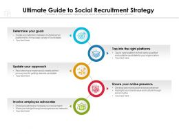 Ultimate Guide To Social Recruitment Strategy