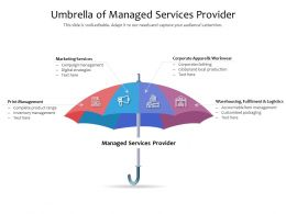 Umbrella Of Managed Services Provider