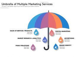Umbrella Of Multiple Marketing Services