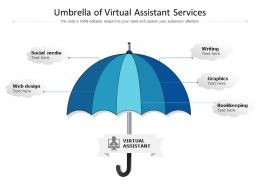 Umbrella Of Virtual Assistant Services