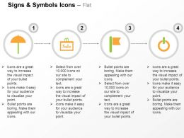 umbrella_sale_flag_power_button_ppt_icons_graphics_Slide01