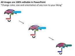 umbrella_with_infographics_data_representation_flat_powerpoint_design_Slide02