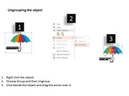 umbrella_with_saving_concept_and_business_icons_flat_powerpoint_design_Slide03
