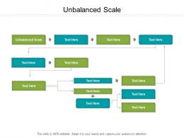 Unbalanced Scale Ppt Powerpoint Presentation Summary Aids Cpb