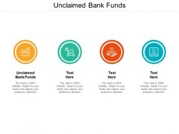 Unclaimed Bank Funds Ppt Powerpoint Presentation Professional Master Slide Cpb