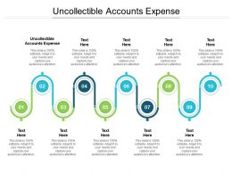Uncollectible Accounts Expense Ppt Powerpoint Presentation Inspiration Graphics Tutorials Cpb