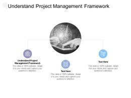 Understand Project Management Framework Ppt Powerpoint Presentation Layouts Gridlines Cpb