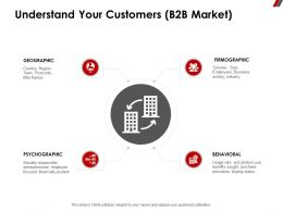 Understand Your Customers B2B Market Geographic Ppt Powerpoint Presentation Elements