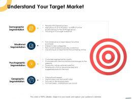 Understand Your Target Market Ppt Powerpoint Presentation Styles Demonstration