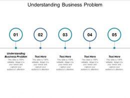 Understanding Business Problem Ppt Powerpoint Presentation Summary Visual Aids Cpb