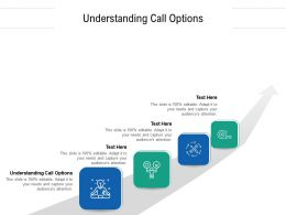 Understanding Call Options Ppt Powerpoint Presentation Pictures Skills Cpb