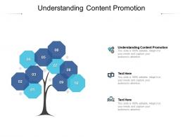 Understanding Content Promotion Ppt Powerpoint Presentation Pictures Master Slide Cpb