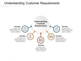 Understanding Customer Requirements Ppt Powerpoint Presentation Layouts Clipart Cpb