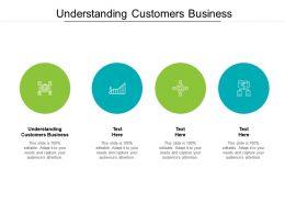 Understanding Customers Business Ppt Powerpoint Presentation Slides Topics Cpb