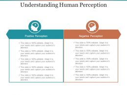 Understanding Human Perception Ppt Background