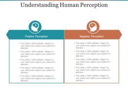 Understanding Human Perception Ppt Background