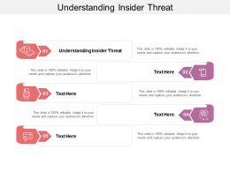 Understanding Insider Threat Ppt Powerpoint Presentation Summary Clipart Images Cpb