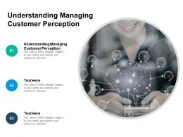 Understanding Managing Customer Perception Ppt Powerpoint Pictures Cpb
