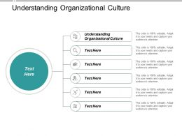 Understanding Organizational Culture Ppt Powerpoint Presentation Layouts Template Cpb