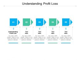 Understanding Profit Loss Ppt Powerpoint Presentation Model Sample Cpb