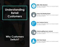 Understanding Retail Customers Ppt Portfolio Designs Download