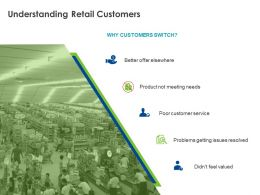 Understanding Retail Customers Ppt Powerpoint Presentation Inspiration Show