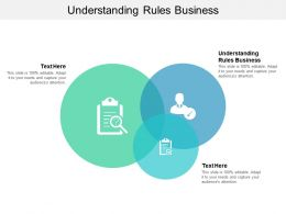 Understanding Rules Business Ppt Powerpoint Presentation Infographics Show Cpb