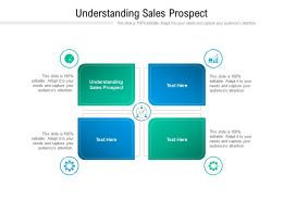 Understanding Sales Prospect Ppt Powerpoint Presentation Infographic Template Cpb