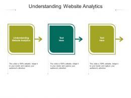 Understanding Website Analytics Ppt Powerpoint Presentation Layouts Influencers Cpb
