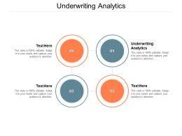 Underwriting Analytics Ppt Powerpoint Presentation Icon Graphics Example Cpb