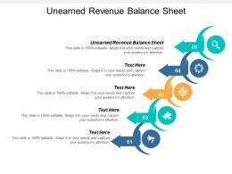 Unearned Revenue Balance Sheet Ppt Powerpoint Presentation Professional Show Cpb