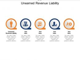 Unearned Revenue Liability Ppt Powerpoint Presentation Styles Examples Cpb