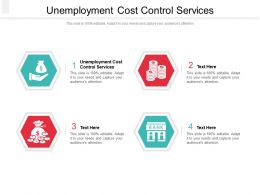 Unemployment Cost Control Services Ppt Powerpoint Presentation Summary Designs Cpb