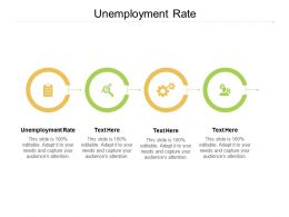 Unemployment Rate Ppt Powerpoint Presentation Portfolio Master Slide Cpb