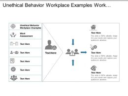 Unethical Behaviour Workplace Examples Work Assessment Consumer Research Cpb