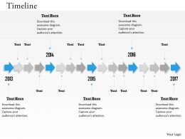 Unidirectional Arrows For Timeline Roadmap 0314