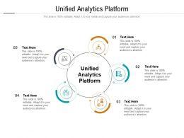 Unified Analytics Platform Ppt Powerpoint Presentation Show Design Ideas Cpb